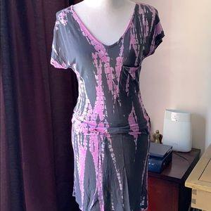 Buffalo tie dye dress